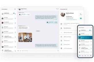 Messagenius sicurezza messaggistica aziendale