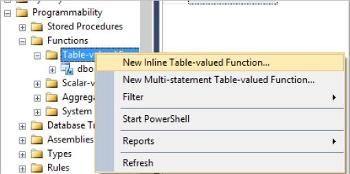 sql how to create function # 4