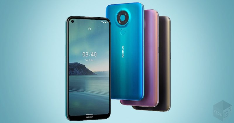 nokia 3.4 different colors