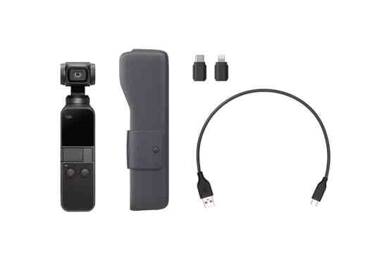 DJI Osmo Pocket smalest camera