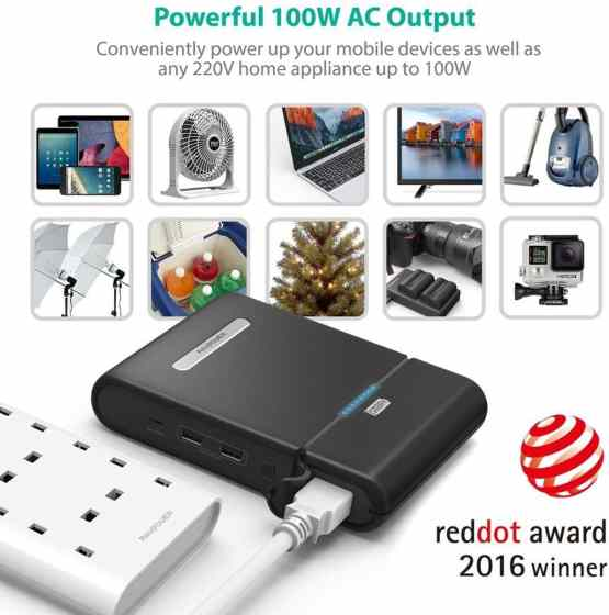 Power Bank 27000mAh with AC 220V