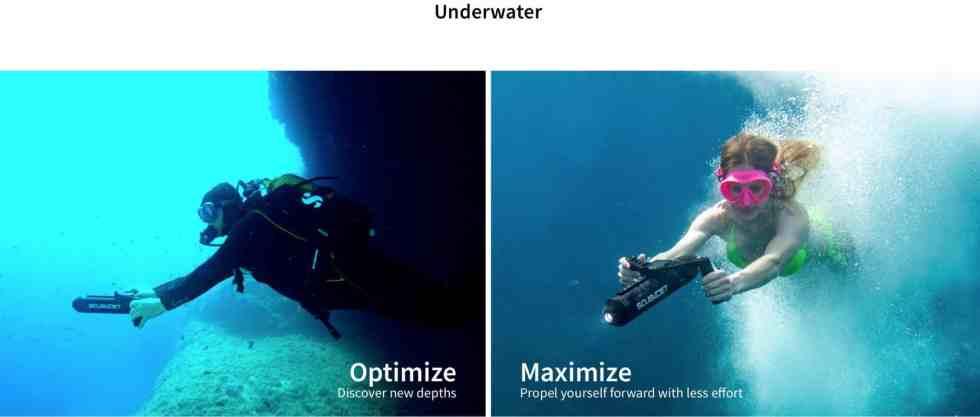 SCUBAJET Pro / Pro XR Dive