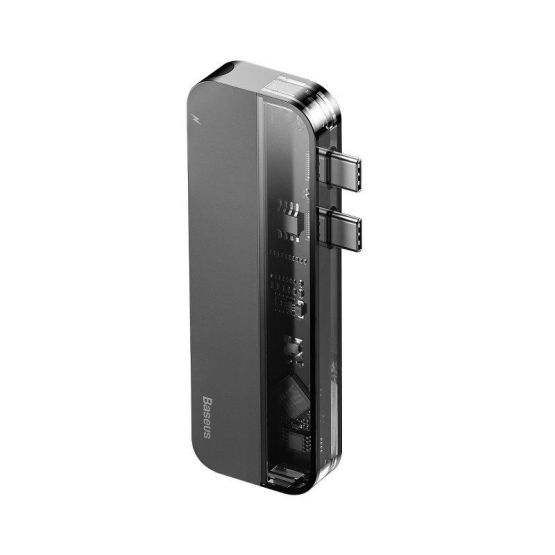 Dual TYPE C Hub Adapter 5in1