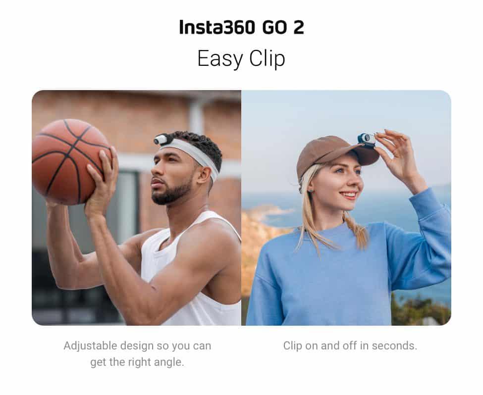 Insta360 GO 2 Easy Clip