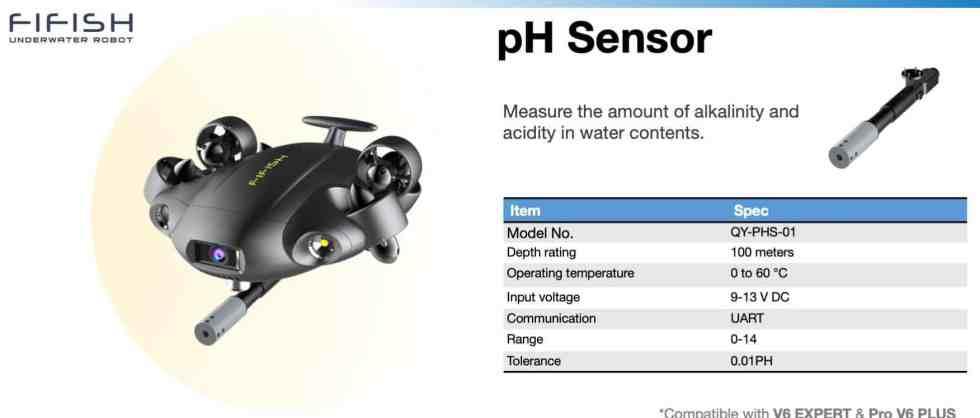pH Sensor for FIFISH