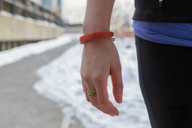 The Jawbone UP24 in action