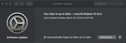 Mojave Update 10.14.3