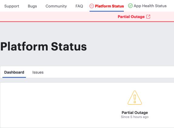 FB Platform Status 1