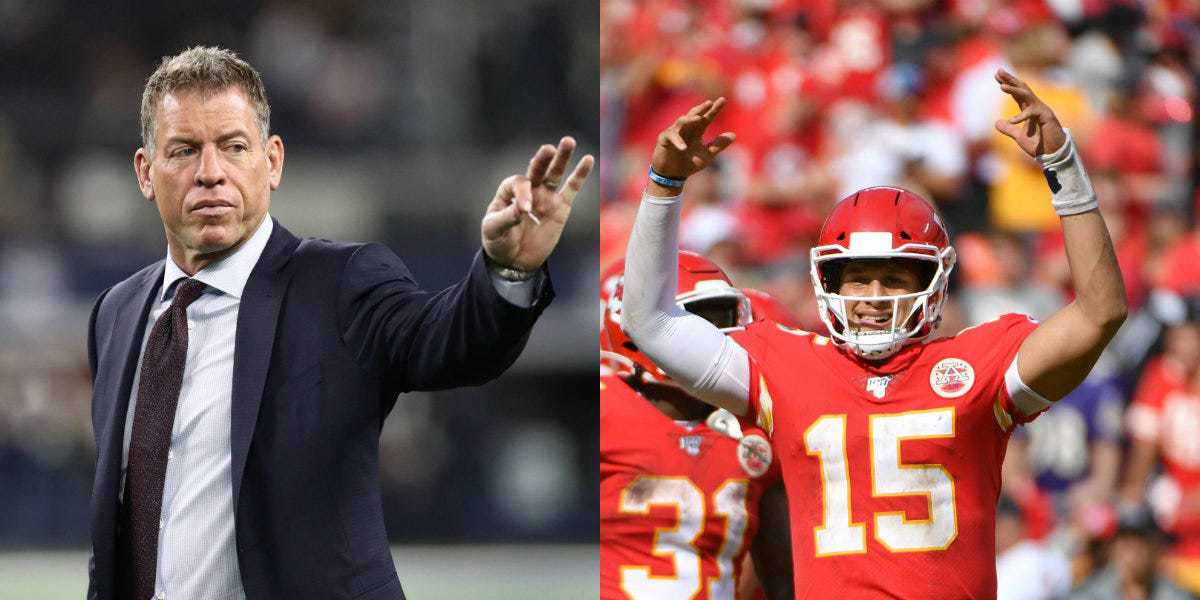 Troy Aikman is not feeling the Patrick Mahomes comparisons