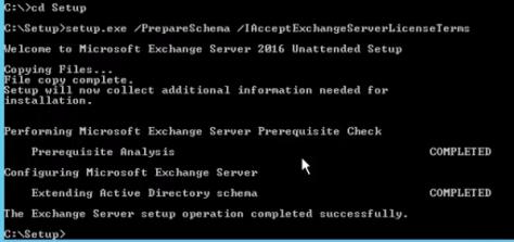 prepare-active-directory-schema
