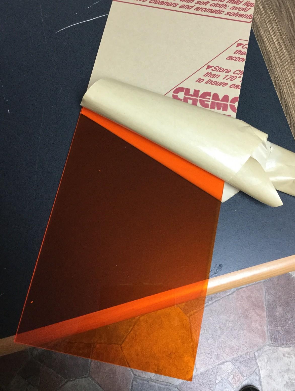 Amber Plexiglas 2422 from ePlastics