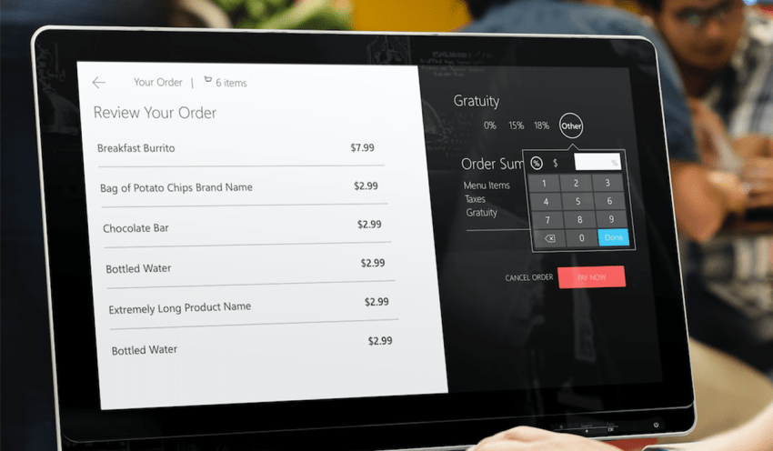 Innovative Vivonet Windows Kiosk app built with UWP and cloud integrations