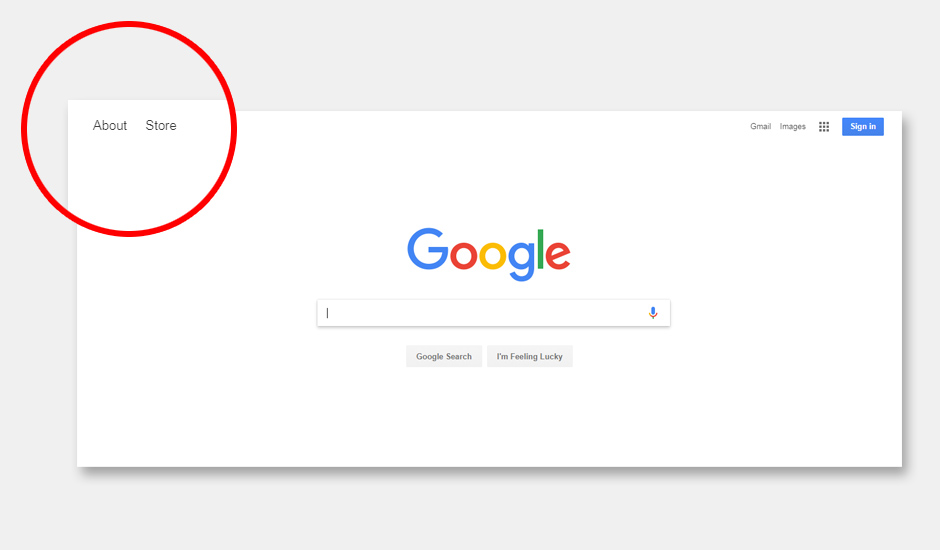 Google Focuses On Search Bar, Adds Shortcut To Google Store