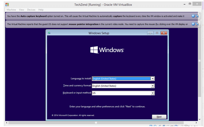 Windows-10-virtualbox