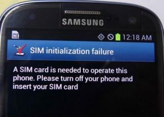 Sim-initialization-failure