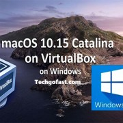 install macOS Catalina on VirtualBox on Windows