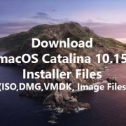 Download macOS Catalina 10.15 Installer Files