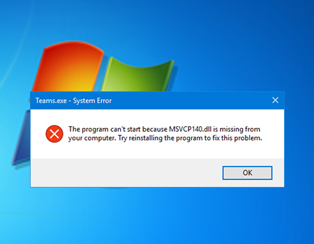 Fix MSVCP140.dll Missing in Windows 10, 8, 7
