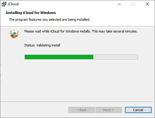 Access iCloud Account on Windows PC