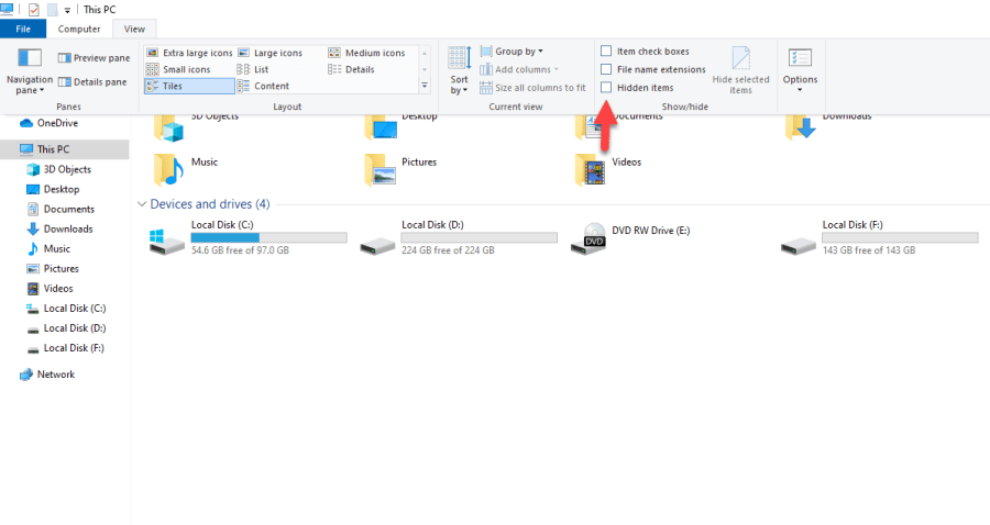 Password Protect a Folder in Windows 10