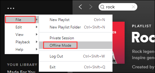 Use Spotify Offline on Windows and Mac