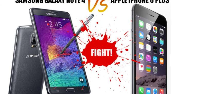 Samsung Galaxy Note 4 Or iPhone 6 Plus – See Reasons To Choose One