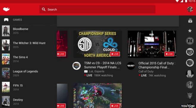 YouTube Gaming: YouTube quitely launches game streaming