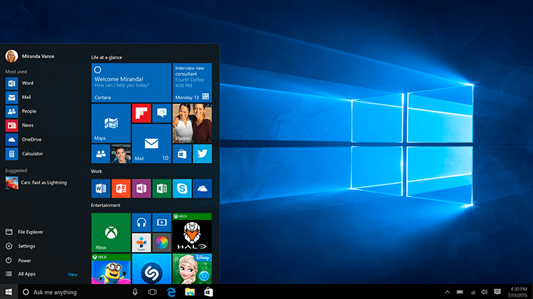 Windows 10 runs on 75 million devices in 1 month