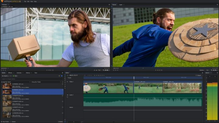 HitFilm Express - The best of free alternatives to Adobe Premiere with VFX support