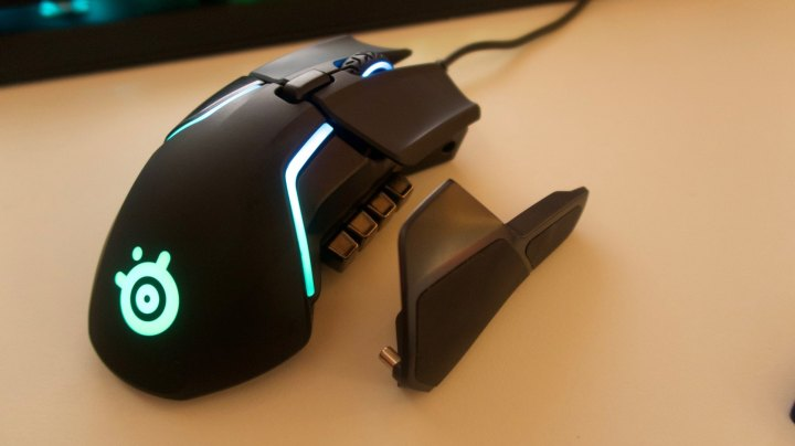 steelseries rival 600 weights system