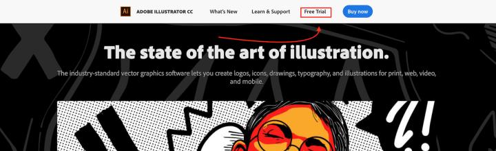 Adobe Illustrator cc trial version