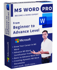 MS Word Course from basic to advance