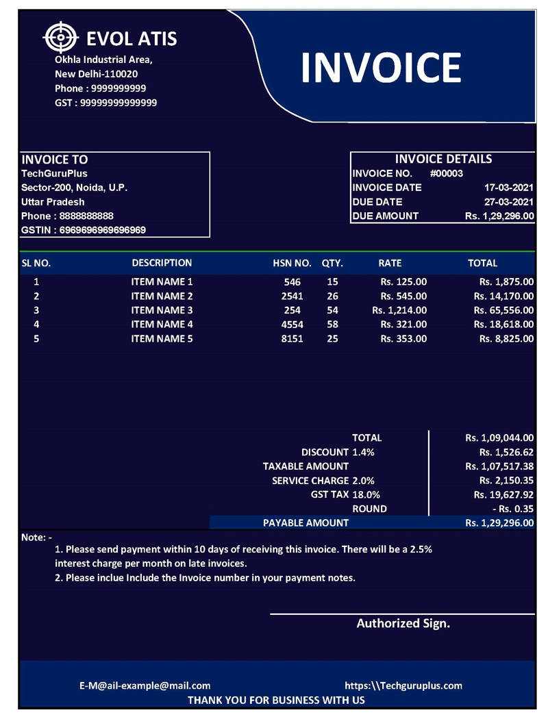 simple proforma invoice template excel, invoice bill format in excel, gst invoice format in excel free download, tally gst invoice format in excel, gst credit note format in excel,