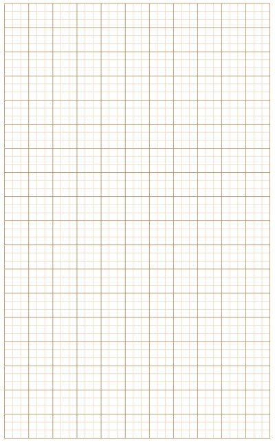 Graph Paper Light Red Lines with Bold Line