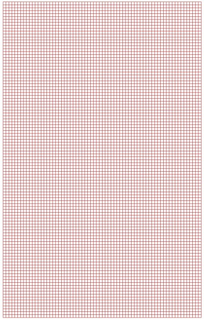 Graph Paper Red Lines Small Blocks