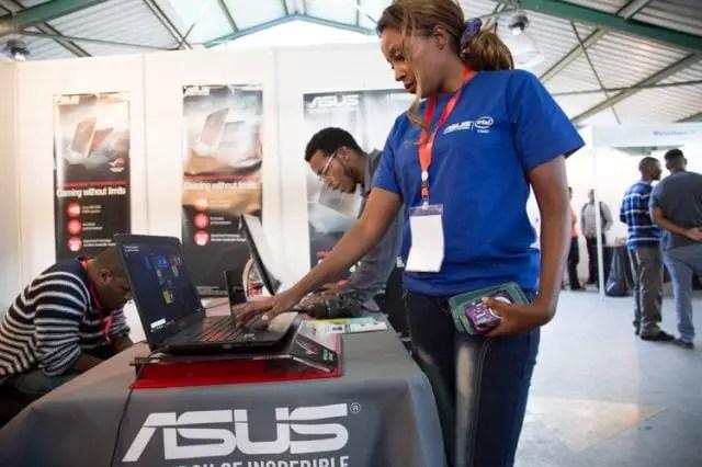 Sampling out ASUS machines at Naiccon