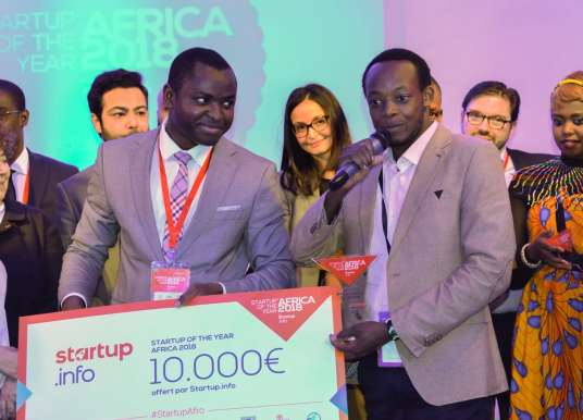 "Kenya's HydroIQ wins ""Startup of the year Africa 2018"""