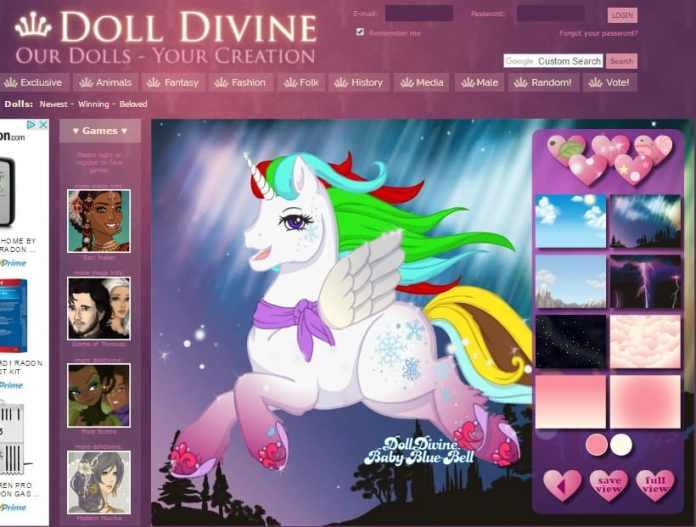 Anime Avatar Creator - DollDivine Avatar Creator