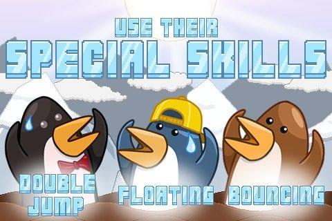 penguin meltdown game iPhone app