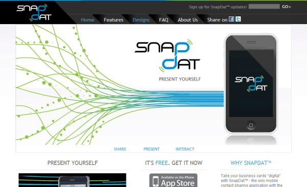 SnapDat   Home Page