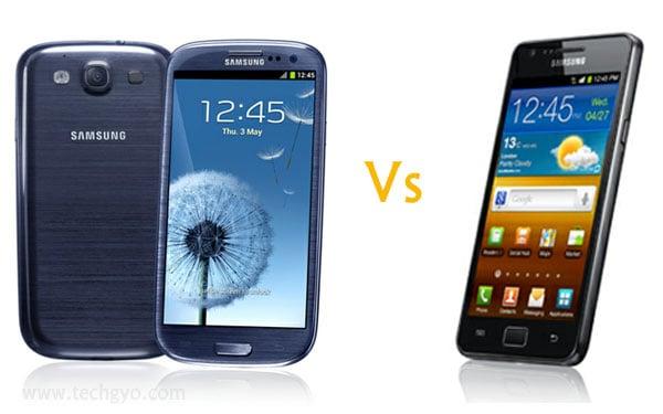 samsung galaxy s3 vs galaxy s2