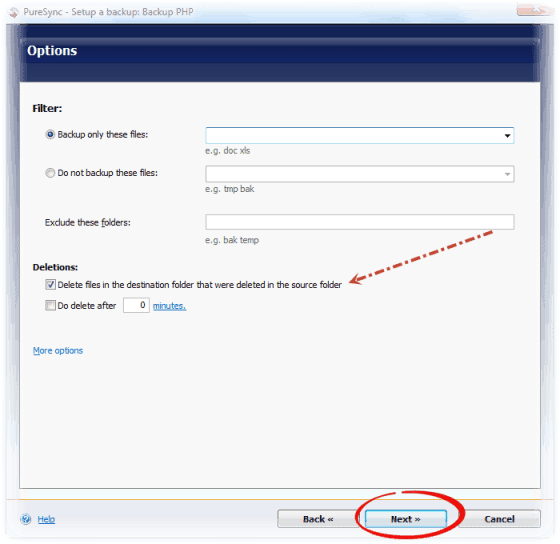 How to Backup Data From PC  Automatically? 2