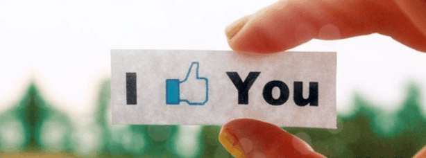 Facebook thumbs up cover