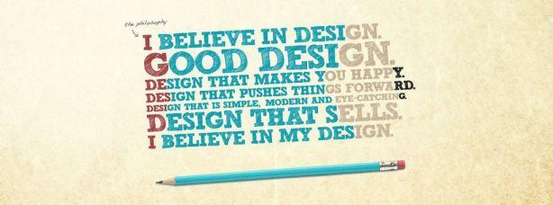 I believe in Design