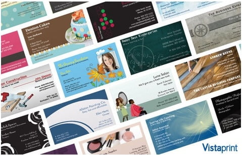 vista print business card designs