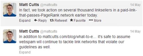 Matt cutts about penguin 2.0 update