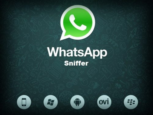 spy WhatsApp Sniffer