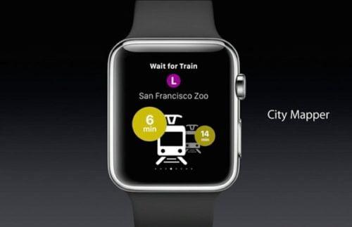 citymapper apple watch  app