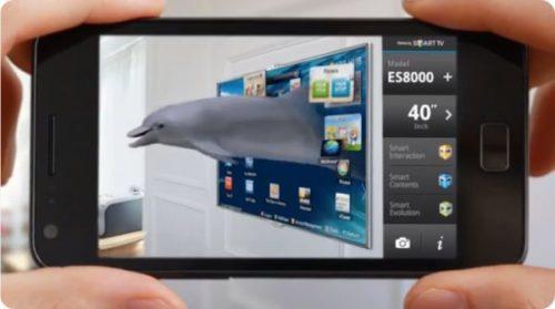 Augmented  reality vs virtual reality tv