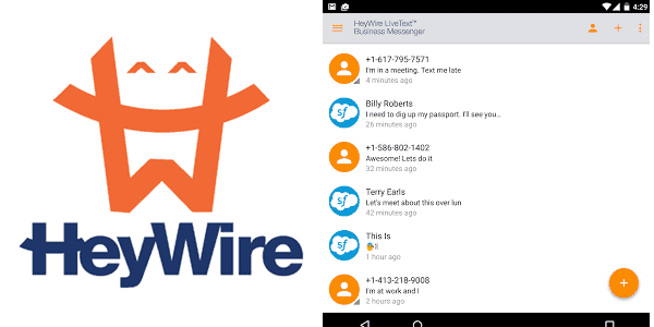 heywire Enterprise Mobile Apps
